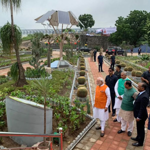 PM Modi's Birthday Celebrations in Gujarat: Sardar Sarovar Dam visits Cactus