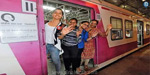 Exciting journey for women on the Mumbai electric train after 7 months !: 4 women's special trains in operation .. !!