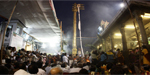Mylapore kapaleeshwarar temple chariot festival  begun with the flag hoisting
