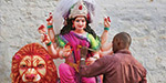 Navratri celebration across the country began to get excited