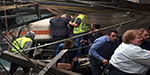 New Jersey commuter train crashes into Hoboken station kill one and injuring 112