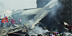 Indonesian flight collapsed in buildings - 116 people died