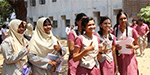 Students rejoice after completion of plus 2 exam