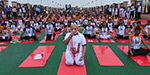 PM Modi Leads The Yoga Day Celebrations In Lucknow