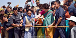 Priyanka Gandhi initiated campaign in Uttar Pradesh: Go to the boat and meet with voters