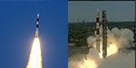 PSLV C33 launched into space