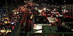 Chennai traffic becomes uncontrollable due to heavy rain