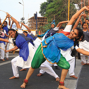Republic Day Celebration: The dance performance of students in Marina took place