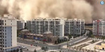 Natural disasters hit China in succession !: People suffer from sand storm that hit 350 feet high .. !!
