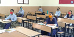 Schools reopen after 6 months in states including Jammu and Kashmir, MP, Assam !: Students studying with enthusiasm .. !!