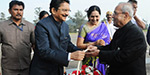 Pranab mukherji attend school fiunction in ooty