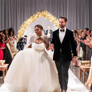 Serena Williams and Alexis Ohio Wedding Photos