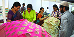 Pure silk saris exhibition begans in Valluvar
