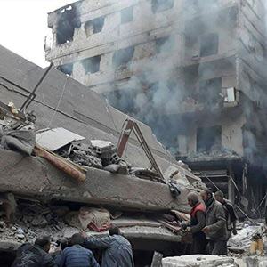 In Syria, the government forces targeted the insurgents, killing 400 people in 5 days