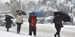 High-speed winds blowing with heavy snow in China: traffic impacts by snow