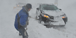 Heavy snowstorm in America-many places including Newyork gone freezed