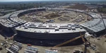 Spaceship like apple campus is built up by Britian firm