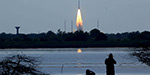 PSLV C38 rocket along with 31 sateliites launched into space
