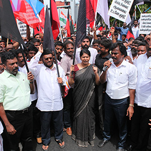 The DMK allies across the state condemned the Thoothukudi shootout