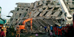 Strong earthquake hits Taiwan - many buildings collapsed