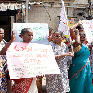 Unexpected bus tariff hike echo: Struggles in Tamil Nadu