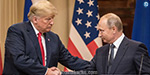 The main negotiations between the US President Trump and the President of Russia