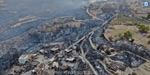 A city burned down by wildfires in Turkey !: Thousands lose their homes