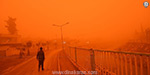 Turkey and Syria swept through the dust storm: the impact of public life