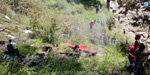A helicopter crash in Uttarakhand flood rescue mission kills three people