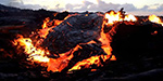 Incredible footage captures lava from one of the world's most active volcanoes