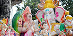 Vinayagar idols are ready for sale for Vinayagar charuthi