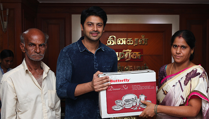 Vincent Gift Festival hosted by Santhivi, Dinakaran: Actor Srikanth prizes