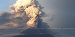 Volcanic Mount lijan in Indonesia: the public affected by the toxic smoke