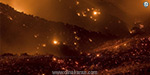 Forest fire burning over a week in California: Thousands of people are evacuated