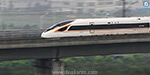 Introducing the worlds fastest bullet train in China: The ability to travel at a speed of 350 km
