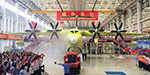 China unveils world's largest amphibious aircraft used to fight forest fires and perform marine rescues