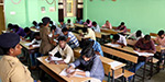 Written exam held for police jobs
