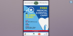 April 22 is a free medical camp conducted by the Dubai Trust Center