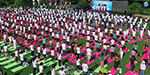 International Yoga Day celebration in Hong Kong