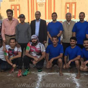 Kabaddi Tournament held in Dubai