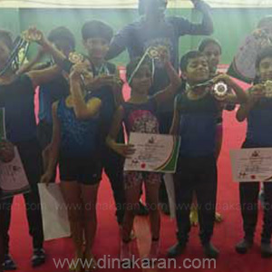 Gymnastics Competition in Nigeria: Top Indian School Students