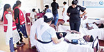 Blood donation camp in Trincomalee