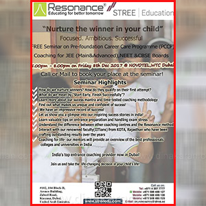 A special seminar to help students get higher scores in Dubai's Entrance Exam