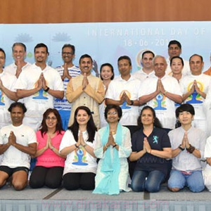 International Yoga Day on behalf of the Indian Embassy in Hong Kong