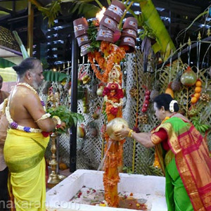 Vembu Amman Festival at the Singapore Easoon Sri Maha Mariamman Temple