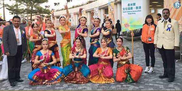 Corporation of Tamil New Year Participation Chinese New Year in Hong Kong