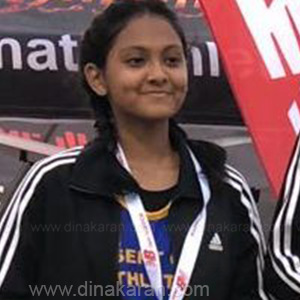 Tamil School girls Touching heights in ATHLETICS