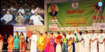 Pongal ceremony in Dubai and attended by over a thousand Tamils