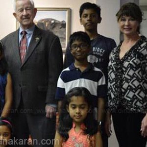 Travel to America Tamil school students