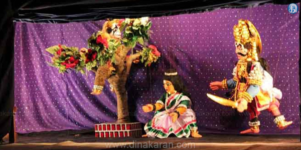 South Indian classical puppetry in Hong Kong